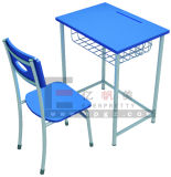 カスタマイズされた教室の家具学生の単一の机椅子セット
