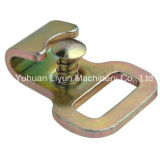 Плоские Hook/Cargo Safety Tie Down Hook W/Keeper 1in x 3500lbs
