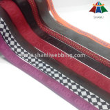 Customized Nylon/Polyester/Cotton/PP Woven Jacquard Webbing