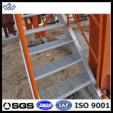 ISO9001 galvanizado y acero huellas de escalón Escalones