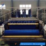 Tela tejida plana de los PP del color azul de China