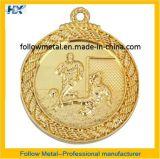 Médaille faite sur commande pour le chemin du football