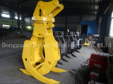 Girar Wood Grab/Timber Grab/Log Grab para Excavator