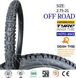 La motocicleta parte el neumático genuino 2.75-21 de la montaña del neumático de la motocicleta del neumático de la motocicleta