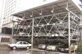 2-6 elevador nivelado que desliza o sistema do estacionamento do carro do enigma