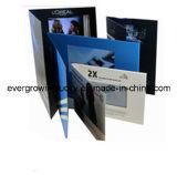 Поздравительная открытка видео-плейер USB цифров