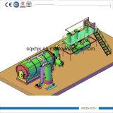 pyrolysis와 증류법에 의하여 디젤 엔진 정제 플랜트에 유성 아스팔트