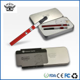 Vaporizador electrónico recargable del cigarrillo de la salud del dispositivo del USB de la manera que fuma