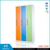 Opslag Van uitstekende kwaliteit van het Metaal van Mingxiu de Lage Industriële de Kast van het Metaal van Kabinetten/3 Deur
