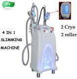 Máquina de congelação gorda de Velashape Cryolipolysis Cryolipo do rolo da radiofrequência