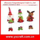Diseño de la puerta de los apoyos de la Navidad de la decoración de la Navidad (ZY14Y168-1-2-3)