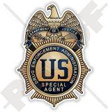 2017 policía del chapado en oro del precio de fábrica de la alta calidad Badge