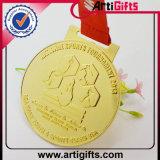 Médaille personnalisée en métal avec l'émail mol