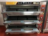 Four de paquet de boulangerie de 3 plateaux des paquets 9 pour l'usage industriel (WDL-3B)