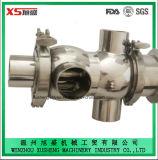 Válvula higiénica sanitaria de Mixproof del acero inoxidable Dn80/elevación de mezcla de la válvula/del asiento de la prueba