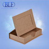Boîtes-cadeau de carton de Brown Papier d'emballage pour l'étalage (BLF-PB054)
