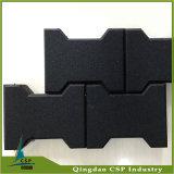 Couvre-tapis en caoutchouc glissade chinoise de fournisseur d'anti avec la forme d'os de crabot