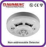 fumo/detetor 2-Wire, convencionais do calor com diodo emissor de luz remoto, alarme de fumo (SNC-300-CL)