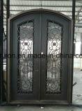Werksgesundheitswesen-Eisen-Garage-Türen und Eisen-Eintrag-Türen