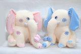 귀여운 채워진 야생 동물 장난감 코끼리 견면 벨벳 장난감 도매