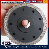 4.5 pollici Circular Diamond Saw Blade per Porcelain e Ceramic Tiles