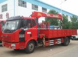 Caminhão da carga de FAW5t 6t 160HP montado com preço telescópico do guindaste