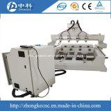 Engraver lavorante di legno del router rotativo di CNC di 4 assi con rotativo