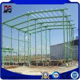 Estructura de acero del marco ligero para el taller