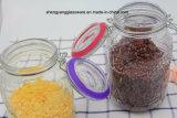 [3بك] يزيّن أسطوانة زجاجيّة تخزين مرطبان يثبت مع غطاء سدود زجاجيّة