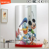 3-19mm Karikatur-Bild-Digital-Lacksilkscreen-Druck/saures Ätzung-Sicherheits-Muster gemildert/Hartglas für Badezimmer/Dusche mit SGCC/Ce&CCC&ISO