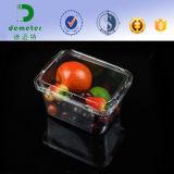 Wegwerfhaustier-Raum-Plastikfrucht-Maschinenhälften-Behälter des Nahrungsmittelgrad-125/500/250grams