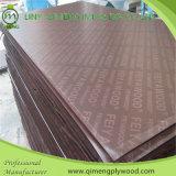 madeira compensada Shuttering enfrentada de 1220X2440X18mm película impermeável em Linyi