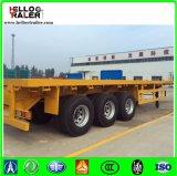 3 Aanhangwagen van de Container van de as 40FT Flatbed Semi