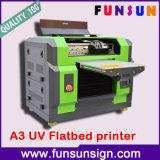 Diodo emissor de luz UV Flatbed Printer da alta qualidade A3/A4 Size para Golf Ball Printing 1440dpi