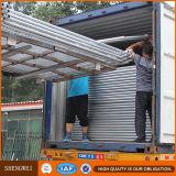 Cerca temporal galvanizada movible modificada para requisitos particulares fábrica de China Australia