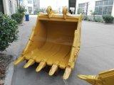 Cubeta da máquina escavadora, peças sobresselentes da máquina escavadora, cubeta da máquina escavadora do OEM com pinos