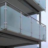 Braçadeira de vidro alongada do aço inoxidável (CR-059B)
