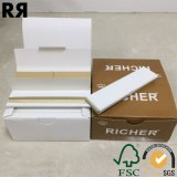 Richer Brown Ultra Thin 14GSM cigarrillo sin blanquear papel de fumar tabaco