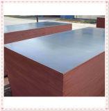1220*2440m m modificaron la madera contrachapada hecha frente película de la construcción para requisitos particulares de WBP