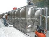 Usine de traitement des eaux du conteneur FRP de l'eau d'acier inoxydable