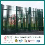 Systèmes décoratifs enduits de frontière de sécurité de jardin de frontière de sécurité de palissade de PVC