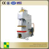 Plaque de pression hydraulique de bras simple de 160 tonnes redressant la machine