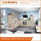 Populäre Möbel-cremefarbener Melamin-Küche-Schrank