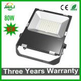 2016 neues schwarzes LED Flut-Licht des Ankunfts-Projekt-80W SMD3030