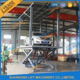 3t 3.4m de Hydraulische Elektrische Lift van de Ladder van de Schaar voor Twee Auto's