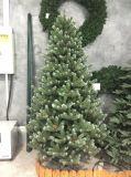 OEM de Kroon van de Gift van Kerstmis van het Ontwerp met Verlichting (directe fabrikant die) wordt geplaatst