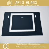 3-12mmのシルクスクリーンの印刷の緩和されたガラスまたは塗られる黒いフレームとガラスガラスか陶磁器の着色されるフリット