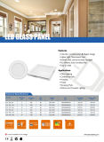 Quadrato ultra sottile caldo dell'alluminio di vendita 2017 ed indicatore luminoso di comitato rotondo di 3W 4W 6W 9W 12W 15W 18W LED