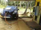 Post van de Lader van het Blad EV van Nissan de Snelle 10kw aan 100kw