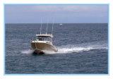 Сертификат Ce рыбацкая лодка алюминия кабины центра в 7.5 метра